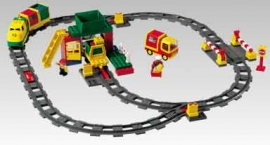 Deluxe Train Set with Motor