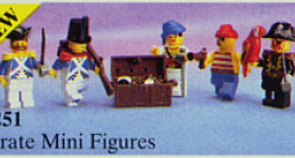 Pirate Mini Figures (Sea Mates)
